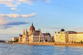 foto of hungarian  - Hungarian Parliament Building in Budapest World Heritage Site by UNESCO - JPG