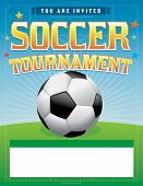 Soccer Football Tournament Illustration