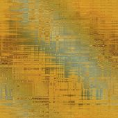 art abstract geometric pattern blurred background in gold and  green colors
