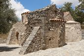 Agios Ioannis Ancient Church In Gerakari. Crete. Greece