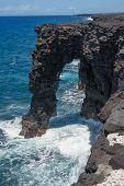 Roc Arc Lava, Volcanoes National Park, Hawaii