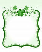 St. Patrick`s Day Frame