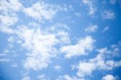 Clouds, Clouds, Clouds, Sunny Day, Sunshine, Blue Skies, White C