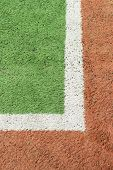 Artificial footbal field
