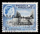 Rhodesia and Nyasaland stamp
