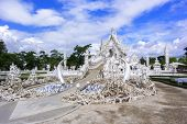 Wat Rong Khun, Main Entrance.
