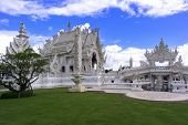Garden In Wat Rong Khun.