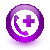 emergency call internet icon