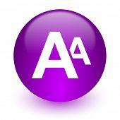 alphabet internet icon