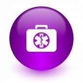 rescue kit internet icon