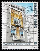 Postage Stamp Belgium 1995 Cauchie House, Brussels