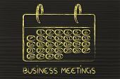 Calendar For Planning, Reaching Your Goals, Measuring Business Performance
