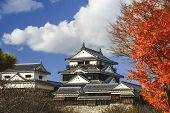 Matsuyama Castle in Matsuyama, Japan.