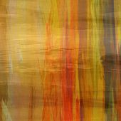 art abstract colorful silk textured blurred background in green, brown, orange and gold colors