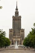 Northern Part Of The Palace Of Culture And Science