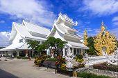Wat Rong Khun Area.