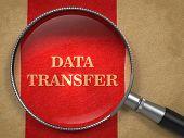Data Transfer through Magnifying Glass.