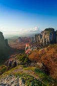Holy Monastery of Rousanou in Meteora mountains