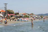Laganas Coast On Zakynthos Island In Greece