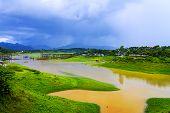 Yellow River Before Rains