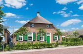 traditional dutch farmhouse