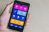 Nokia Xl Smartphone In Hand
