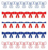 Patriotic Ribbon Borders