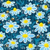 Pattern With Bee