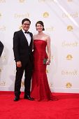 LOS ANGELES - AUG 25:  Rich Sommer at the 2014 Primetime Emmy Awards - Arrivals at Nokia at LA Live on August 25, 2014 in Los Angeles, CA
