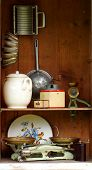 vintage kitchen equipment