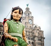 Huge Puppets in Liverpool for Giant Spectacular 2014