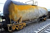 Damaged Tank Car