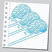 Brain race