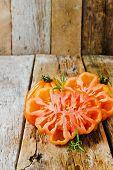 Ripe Sliced Tomato