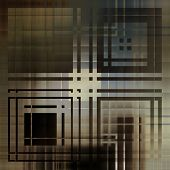 art abstract geometric textured monochrome background with square in brown, white, grey and black co