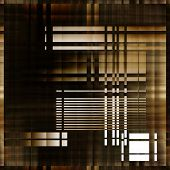 art abstract geometric textured colorful background with square in brown, white and black colors