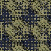 art abstract pixel geometric seamless pattern; background in grey, black and beige colors