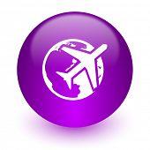travel internet icon