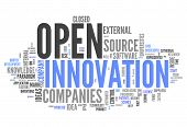 Word Cloud Open Innovation