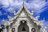 Wat Rong Khun, Top Of Temple.
