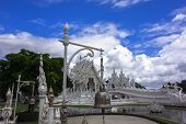 Wat Rong Khun, Architectural Details, Bell.