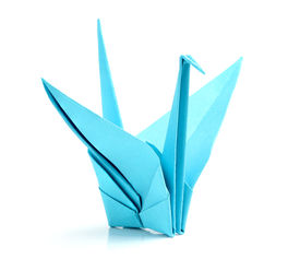 foto of shadoof  - Origami bird  - JPG