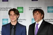 LOS ANGELES - JAN 22:  Ellar Coltrane, Richard Linklater at the American Casting Society presents 30th Artios Awards at a Beverly Hilton Hotel on January 22, 2015 in Beverly Hills, CA