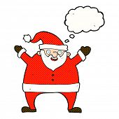 cartoon father christmas