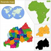 Administrative division of the Republic of Rwanda