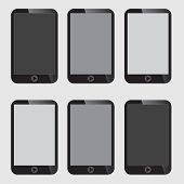 Blank Screen Smart Phone.