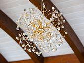 Beautiful Golden Chandelier