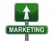 stock photo of marketing strategy  - Marketing Strategy sign - JPG