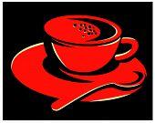 Coffee-cup-teaspoon