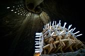 stock photo of salt mine  - Turda salt mine  - JPG